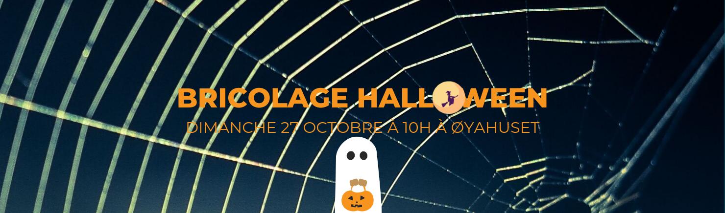 Slider bricolage Halloween