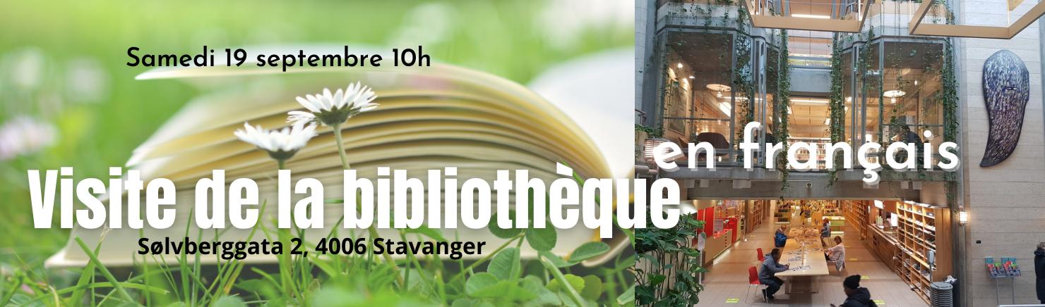 Slide Visite Bibliothèque de Stavanger