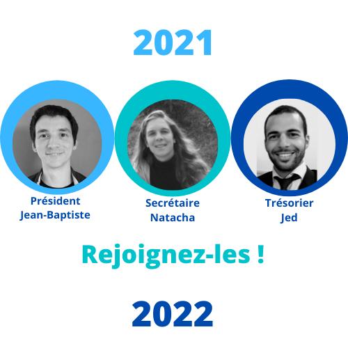 Nouveau bureau 2021-2022
